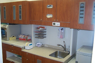 ultra-modern sterilization area