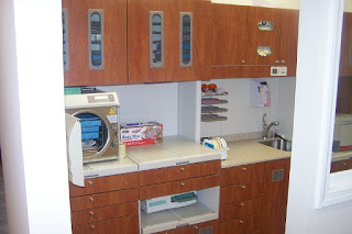 ultra-modern sterilization area